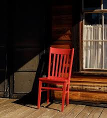 Old Man Rocking Chair Red Chair Travels To Sweet Gum Bottom Bed And Breakfast