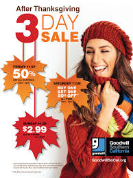 gsc after thanksgiving sale web page goodwill southern california
