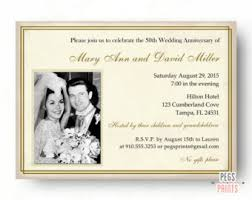 50th wedding invitations 50th wedding invite etsy