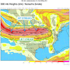 Jet Stream Map Meteorological Terms U0026 Concepts Weather Informer