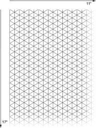 printable isometric paper a4 11x17 graph paper gidiye redformapolitica co