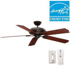 60 ceiling fan with light miracle hunter bronze ceiling fan royal oak 60 in indoor new 54018