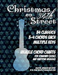 amazon com ukulele christmas song books 1 u0026 2 40 holiday songs