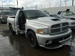 2004 dodge viper truck for sale salvage dodge ram srt10 for sale at copart auto auction