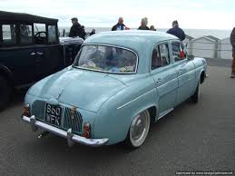 1958 renault dauphine may car 2015 bexhill 100 motoring club