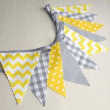 fanion deco chambre deco chambre gris et jaune 25 best ideas about guirlande fanion