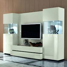 modern ikea living room storage in white with tv stand for