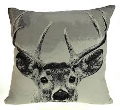 Stag Cushions Noble Stag Jacquard Cushion Covers 18