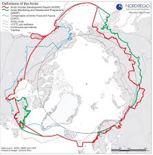 Arctic Circle Map Map Arctic Definitions Norsenomad