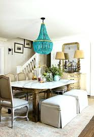 turquoise beaded chandelier one turquoise beaded chandelier light fixture eimat co awesome