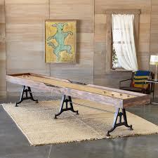 Shuffle Board Tables Classic Shuffleboard Table Robert Redford U0027s Sundance Catalog
