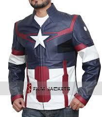 leather jacket black friday sale avengers age of ultron captain america leather jacket