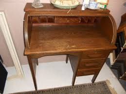 Old Roll Top Desk Antique Roll Top Desk Value Hostgarcia Small Furniture Oak Photos