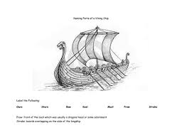 viking boats by lizbiz2 teaching resources tes