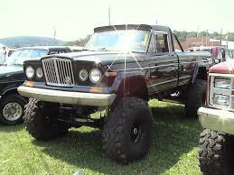jeep j truck jeep j 20 townside truck with retro gladiator grill flickr