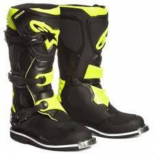 motocross boots alpinestars alpinestars tech 1 motocross boot schwarz neon yellow 2017