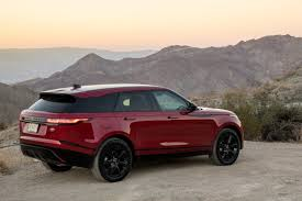 land rover suv 2018 2018 land rover range rover velar review first drive news