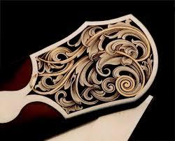gold inlay engraving sam alfano engraver custom knife engraving