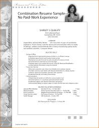 Medical Assistant Resume With No Experience Examples Of Resumes With No Experience Resume Example And Free