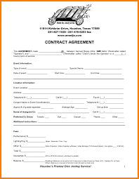 dj contract template non compete agreement j contracts invoice