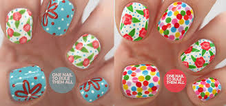 spring flower nail art designs ideas u0026 trends 2014 fabulous