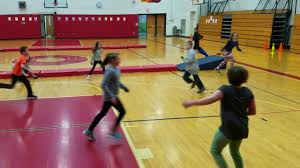 pe activity bean bag foot tag 3 levels youtube