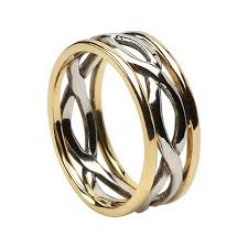 infinity wedding rings celtic infinity knot wedding rings made in ireland