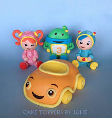 custom cakes by julie team umizoomi cake toppers karlees 3rd b