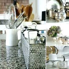 kitchen counter decor ideas countertop decor ideas how to decorate the top of kitchen cabinets
