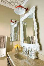 decorative bathroom mirror with lights How to Make Decorative