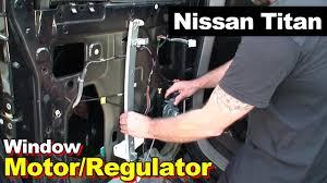 nissan titan rear bumper replacement 2004 nissan titan rear left window motor regulator youtube