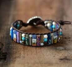 bracelet stone images Mixed stone positivity bracelet project yourself jpg