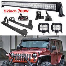 led light bar jeep wrangler jeep wrangler light bar ebay