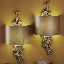 Wireless Sconces Gold Floral Wireless Led Wall Sconce From Seventh Avenue Dd753830