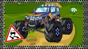 monster truck cartoon videos compilation of monster trucks cars cartoons for children full