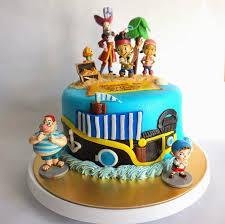 sherbakes jack neverland pirates themed cake