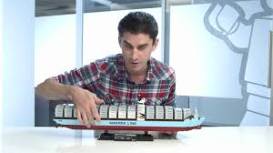 lego designer video maersk ship set 10241 youtube