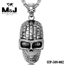 aliexpress buy new arrival cool charm vintage with random gift chain top store cool charm skull stainless