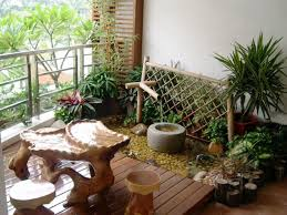 61 japanese style balcony garden ideas complete with bamboo water