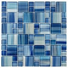 blue glass tile backsplash blue backsplash tile 16 design ideas