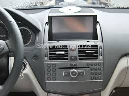 mercedes gps navigation system touch screen in dash car radio for mercedes c class mercedes