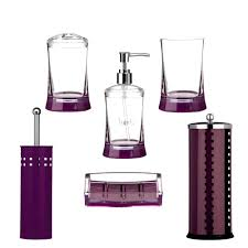 accessories appealing purple bathroom accessories next plum