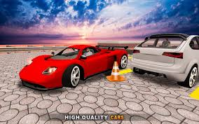futuristic cars futuristic car parking game free parking game android apps on