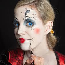 halloween porcelain doll makeup 17 best halloween images on pinterest broken doll makeup i think