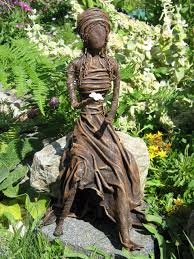 paverpol vancouver island basic sitting sculpture learn how to make a beautiful garden sculpture from an old t shirt in just one day using paverpol a water based non toxic textile hardener