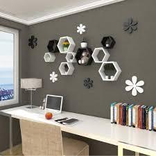 etagere chambre adulte blanc set de 3 étagères murales de rangement étagère murale cubes