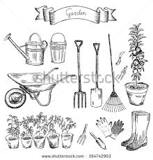 garden drawing stock images royalty free images u0026 vectors