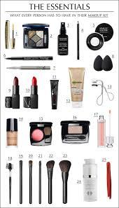 25 best ideas about travel makeup on travel makeup essentials makeup bag essentials and beauty essentials