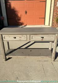 Sofa Back Table by How To Bring Life Back To An Old Furniture Piece Updating An Old