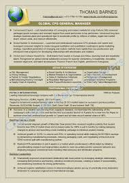 Sample Resume For Supply Chain Executive by Resumes U0026 Self Marketing Collateral Career Solvers